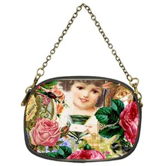 Little Girl Victorian Collage Chain Purses (one Side)  by snowwhitegirl