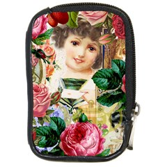 Little Girl Victorian Collage Compact Camera Cases by snowwhitegirl