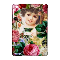 Little Girl Victorian Collage Apple Ipad Mini Hardshell Case (compatible With Smart Cover) by snowwhitegirl