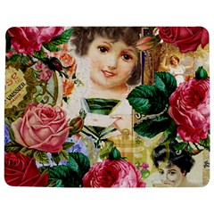 Little Girl Victorian Collage Jigsaw Puzzle Photo Stand (rectangular) by snowwhitegirl