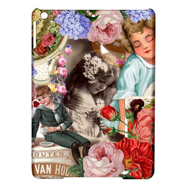 Victorian Collage iPad Air Hardshell Cases
