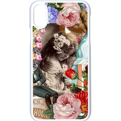 Victorian Collage Apple Iphone X Seamless Case (white) by snowwhitegirl