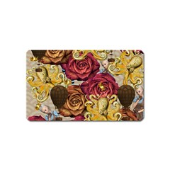 Octopus Floral Magnet (name Card) by snowwhitegirl