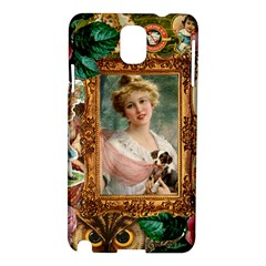 Victorian Collage Of Woman Samsung Galaxy Note 3 N9005 Hardshell Case by snowwhitegirl