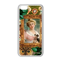 Victorian Collage Of Woman Apple Iphone 5c Seamless Case (white) by snowwhitegirl