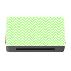 Green Chevron Memory Card Reader With Cf by snowwhitegirl