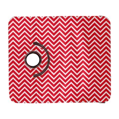 Red Chevron Galaxy S3 (flip/folio) by snowwhitegirl