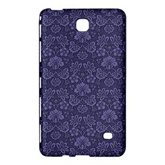 Damask Purple Samsung Galaxy Tab 4 (7 ) Hardshell Case  by snowwhitegirl