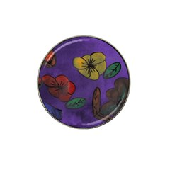 Flowers Hat Clip Ball Marker
