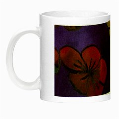 Flowers Night Luminous Mugs