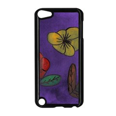 Flowers Apple Ipod Touch 5 Case (black) by snowwhitegirl