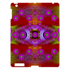 Shimmering Pond With Lotus Bloom Apple Ipad 3/4 Hardshell Case by pepitasart