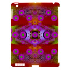Shimmering Pond With Lotus Bloom Apple Ipad 3/4 Hardshell Case (compatible With Smart Cover) by pepitasart