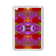 Shimmering Pond With Lotus Bloom Ipad Mini 2 Enamel Coated Cases by pepitasart