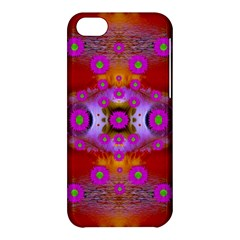 Shimmering Pond With Lotus Bloom Apple Iphone 5c Hardshell Case by pepitasart