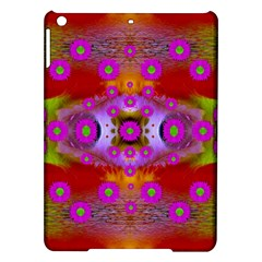 Shimmering Pond With Lotus Bloom Ipad Air Hardshell Cases by pepitasart