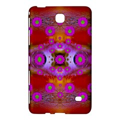 Shimmering Pond With Lotus Bloom Samsung Galaxy Tab 4 (7 ) Hardshell Case  by pepitasart
