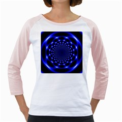 Indigo Lotus  Girly Raglans