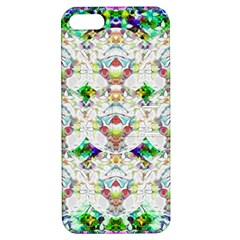 Nine Little Cartoon Dogs In The Green Grass Apple Iphone 5 Hardshell Case With Stand by pepitasart