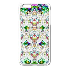 Nine Little Cartoon Dogs In The Green Grass Apple Iphone 6 Plus/6s Plus Enamel White Case by pepitasart