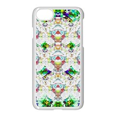 Nine Little Cartoon Dogs In The Green Grass Apple Iphone 7 Seamless Case (white) by pepitasart