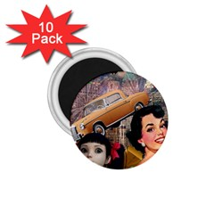 Out In The City 1 75  Magnets (10 Pack)  by snowwhitegirl