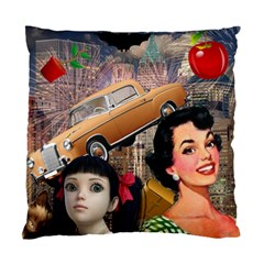 Out In The City Standard Cushion Case (two Sides) by snowwhitegirl