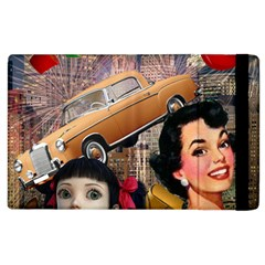 Out In The City Apple Ipad 2 Flip Case by snowwhitegirl