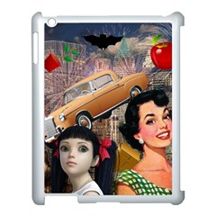 Out In The City Apple Ipad 3/4 Case (white) by snowwhitegirl