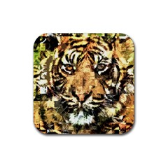 Tiger 1340039 Rubber Square Coaster (4 Pack)