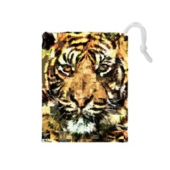 Tiger 1340039 Drawstring Pouches (medium)  by 1iconexpressions