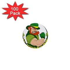St  Patricks Day 1  Mini Buttons (100 Pack)  by Valentinaart
