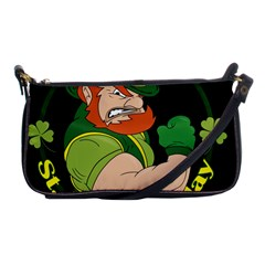 St  Patricks Day Shoulder Clutch Bags by Valentinaart