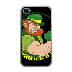 St  Patricks Day Apple Iphone 4 Case (clear)