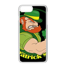 St  Patricks Day Apple Iphone 8 Plus Seamless Case (white) by Valentinaart