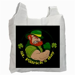 St  Patricks Day Recycle Bag (two Side)  by Valentinaart