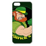 St. Patricks day Apple Seamless iPhone 5 Case (Clear) Front