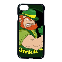 St  Patricks Day Apple Iphone 8 Seamless Case (black) by Valentinaart
