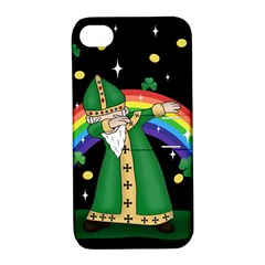 St  Patrick  Dabbing Apple Iphone 4/4s Hardshell Case With Stand