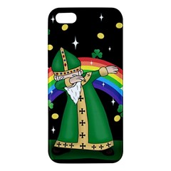 St  Patrick  Dabbing Apple Iphone 5 Premium Hardshell Case
