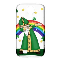 St  Patrick  Dabbing Samsung Galaxy S4 Classic Hardshell Case (pc+silicone)