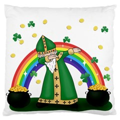 St  Patrick  Dabbing Standard Flano Cushion Case (one Side) by Valentinaart