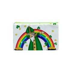 St  Patrick  Dabbing Cosmetic Bag (xs) by Valentinaart