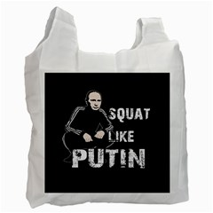 Squat Like Putin Recycle Bag (one Side)