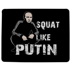 Squat Like Putin Jigsaw Puzzle Photo Stand (rectangular) by Valentinaart