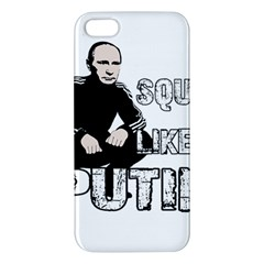 Squat Like Putin Apple Iphone 5 Premium Hardshell Case