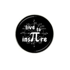 Pi Day Hat Clip Ball Marker (4 Pack) by Valentinaart