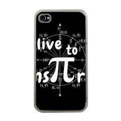 Pi Day Apple Iphone 4 Case (clear) by Valentinaart