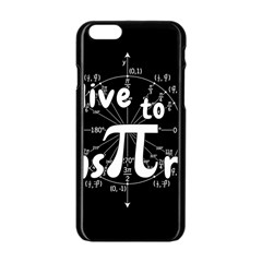 Pi Day Apple Iphone 6/6s Black Enamel Case by Valentinaart