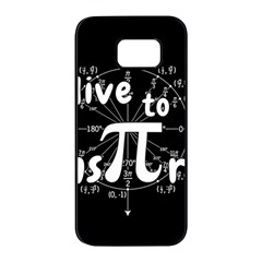 Pi Day Samsung Galaxy S7 Edge Black Seamless Case